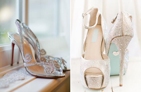 Kết quả hình ảnh cho cách chọn giày cưới phù hợp với váy cưới