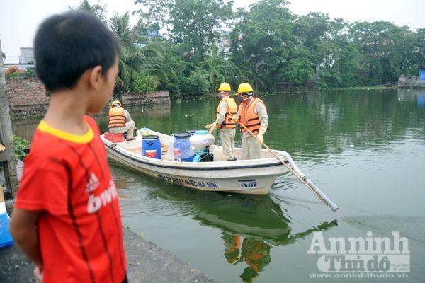 Cận cảnh công nghệ xử lý nước hồ và lọc nước uống được tại vòi được đặt hàng riêng cho Hà Nội