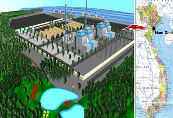Trên 2 tỷ USD đầu tư Nhà máy Nhiệt điện Nam Định 1