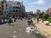Hàng trăm công nhân vệ sinh ra quân dọn dẹp sau chợ tết