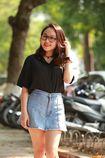 Con gái Thanh Lam xinh đẹp, Quỳnh Anh Shyn khác lạ với mặt thon dài