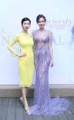 Xuân Lan rạng rỡ đến chúc mừng Hoa hậu Quý bà châu Á 2016