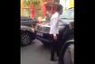 Kỷ luật tài xế xe biển xanh chạy ngược chiều ở Sài Gòn