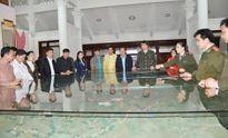 Đoàn đại biểu Bộ An ninh CHDCND Lào làm việc tại Tuyên Quang