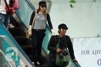 Mỹ Tâm được săn đón như sao Hàn tại sân bay