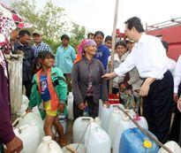 Chống hạn hiệu quả, không để đồng bào đói gạo, thiếu nước sinh hoạt
