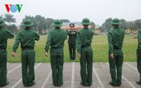 Tuyển chọn, huấn luyện khối Dân quân tham gia diễu binh Quốc khánh