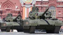 Siêu tăng Armata của Nga đứng máy khi tổng duyệt