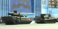 Siêu tăng T-14 gặp sự cố trên Quảng trường Đỏ