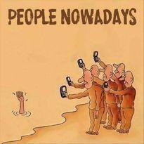 Chùm tranh châm biếm đáng suy nghĩ về cuộc sống và chiếc smartphone