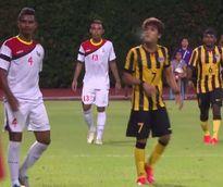 Cầu thủ U23 Malaysia nhận án phạt cực nặng