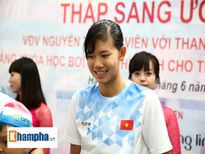 Ánh Viên nhận giải Vinh quang Việt Nam