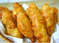 Cách làm bánh chuối rán vàng giòn ngon nhâm nhi chiều thu