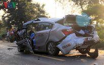 Xe con đâm trực diện xe tải, 2 CSGT thiệt mạng