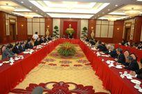 Tổng Bí thư Nguyễn Phú Trọng gặp mặt cán bộ ngoại giao