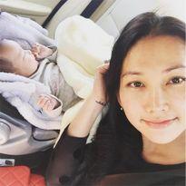 Gia đình Kim Hiền đi sắm đồ đầy tháng cho con