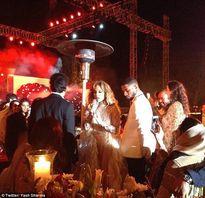 Jennifer Lopez, Christina Aguilera đi hát đám cưới