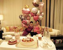 Hoa hậu Quốc tế Trung Quốc khoe bụng bầu 8 tháng