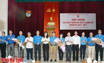 Thanh niên Hà Tĩnh tiếp tục xung kích, tình nguyện phát triển KT-XH
