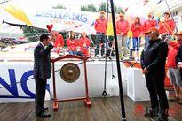 Lễ đặt tên thuyền Đà Nẵng dự cuộc đua thuyền buồm vòng quanh thế giới