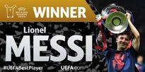 Messi vượt mặt CR7 nhận giải cầu thủ xuất sắc châu Âu mùa 2014/15