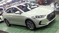"""Hyundai Elantra 2016 lộ ảnh """"nóng"""" tại nhà máy"""