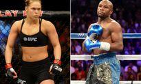 Ronda Rousey lại khiêu khích Floyd Mayweather không biết tính toán