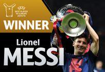 Đánh bại Ronaldo, Messi xuất sắc nhất châu Âu