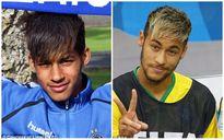 """Cầu thủ vô danh bất ngờ thành """"sao"""" vì giống Neymar như hai giọt nước"""