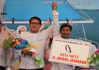 Giải thuyền buồm 2 thân Vũng Tàu Marina: Sailboat 11 đăng quang