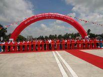 Chính thức thông xe cầu Mỹ Lợi nối liền hai tỉnh Tiền Giang và Long An