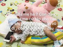 Hoa hậu Diễm Hương 'kêu trời' vì nhầm ảnh con trai