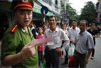 Hà Nội cấm đường phục vụ lễ 2/9, giao thông ùn tắc