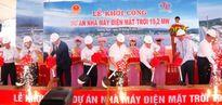 Khởi công nhà máy điện mặt trời đầu tiên tại Việt Nam