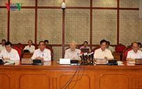Bộ Chính trị làm việc với Ban Thường vụ Thành ủy TP.HCM