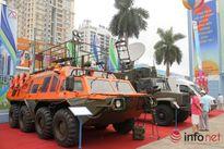 Ngắm xe Lexus 570 chống đạn của An ninh Việt Nam