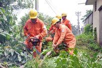 Bảo đảm an toàn điện mùa mưa, bão ở Hà Nội