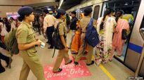 """Những chuyến tàu """"cấm nam giới"""" nhằm chống hiếp dâm và quấy rối tình dục"""
