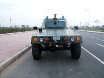 Xe đặc chủng RAM 2000 MK3 vừa trưng bày ở Hà Nội có gì đặc biệt?