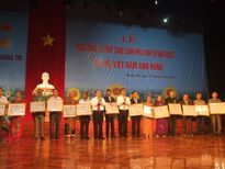 Quảng Trị: Lễ tôn vinh Bà mẹ Việt Nam Anh hùng