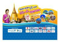 Sắm đồ cho mẹ và bé, nhận cơ hội du lịch Thái Lan