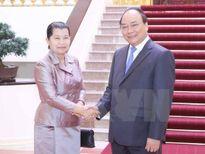 Sớm hoàn thành phân giới cắm mốc biên giới Việt Nam-Campuchia