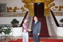 Phó Thủ tướng Nguyễn Xuân Phúc tiếp Phó Thủ tướng Campuchia Men Sam An