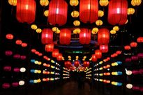 Tới Đà Nẵng ngắm con đường đèn lồng dài nhất Việt Nam