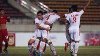 ĐT U19 Việt Nam gặp ĐT U19 Lào ở bán kết