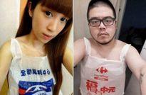 Đài Loan: Sốt với trào lưu mặc...túi nilon