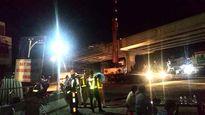 Hoàn thành lao dầm cầu vượt Quốc lộ 19