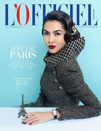 Tăng Thanh Hà quyến rũ khó rời trên bìa tạp chí danh tiếng