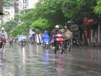 Trường học nhiều nơi có thể khai giảng trong mưa