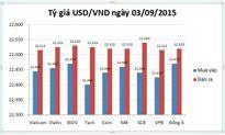 Tỷ giá USD/VND hôm nay (03/09): Tái thiết lập đỉnh giá